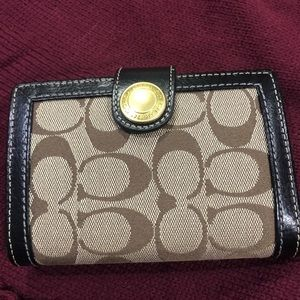 Coach day planner/wallet